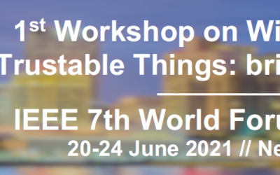 WF-IoT 2021: Workshop on Wireless Intelligent Secure Trustable Things: bringing IoT and AI together – Call for Papers